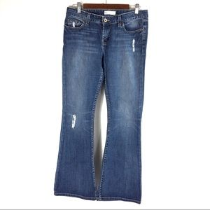 T166Buckle BKE Element Stretch Flare Jeans 30/31.5